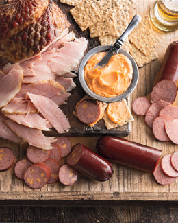 Ham, Summer Sausage, & Cheese Gift Set