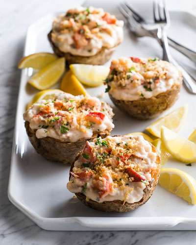 Lobster Stuffed Potatoes