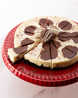 Brown Cow Chocolate Pudding Cheesecake