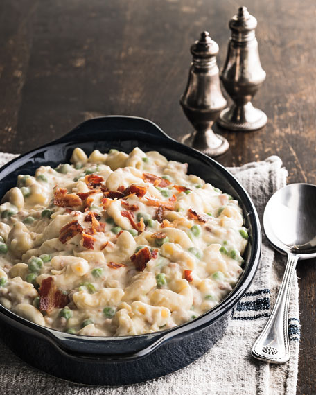 Mac & Cheese with Bacon, For 9 People