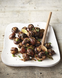 Sage-Roasted Mushrooms