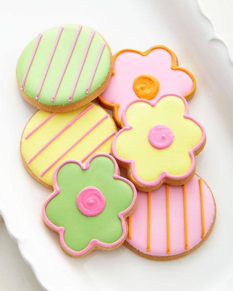 18 Spring Flower Cookies