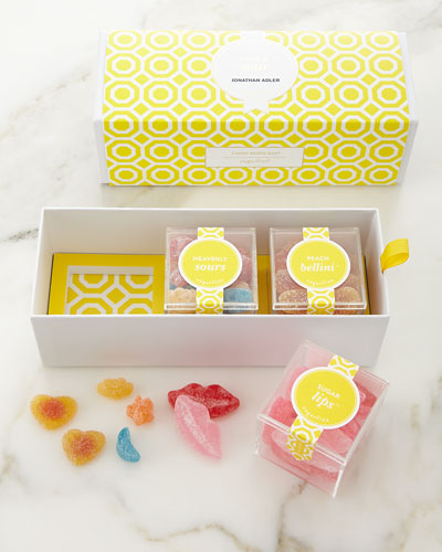 Jonathan Adler Chic & Sour 3-Piece Bento Box