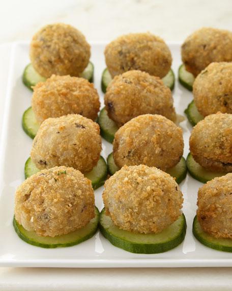 Porcini Mushroom Risotto Bites, For 15 People