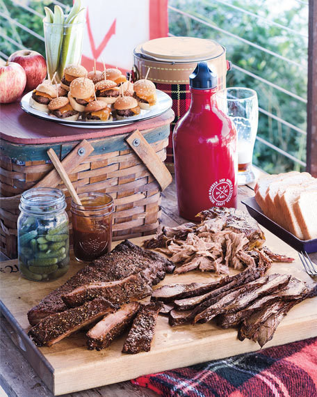Kansas City Barbecue Sampler, For 9-12 People