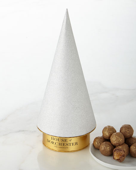 Sparkle Bauble Tree with Chocolate Truffles