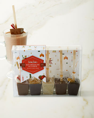 Hot Chocolate on a Stick, 5 Pack