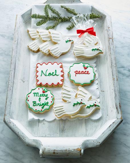 7 Peace Dove Cookies