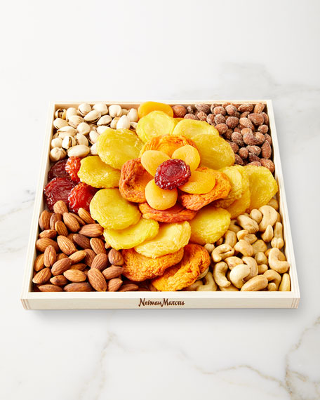 """""""Rose"""" Fruit and Nut Tray"""
