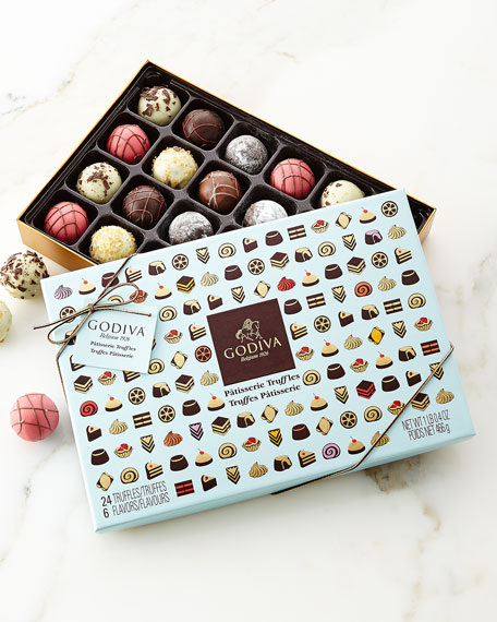Godiva Chocolatier 24-Piece Patisserie Truffle Box