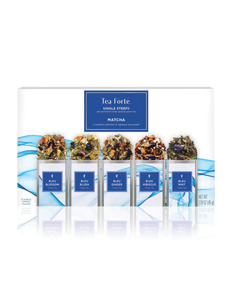 Bleu Single Steep Tea Sampler Box