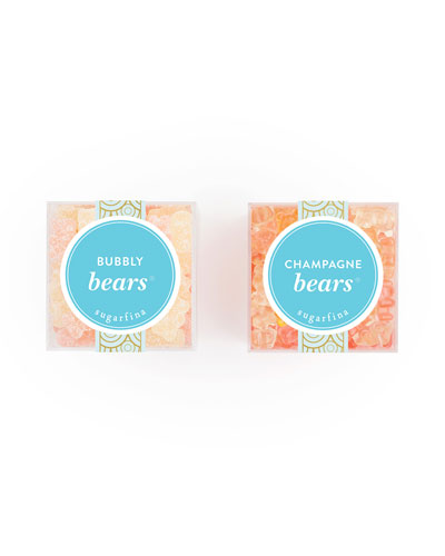 Champagne Bears and Bubble Bears Candy Bundle, Set of Two