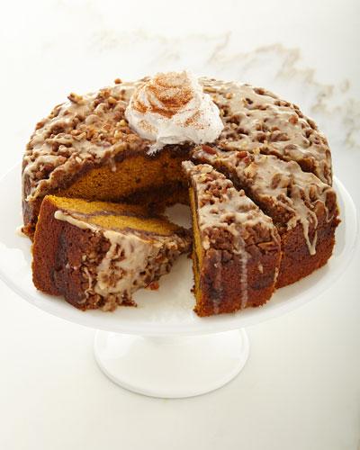 Pumpkin Pecan Coffee Cake