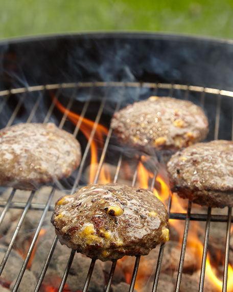 Bacon and Cheddar Burgers