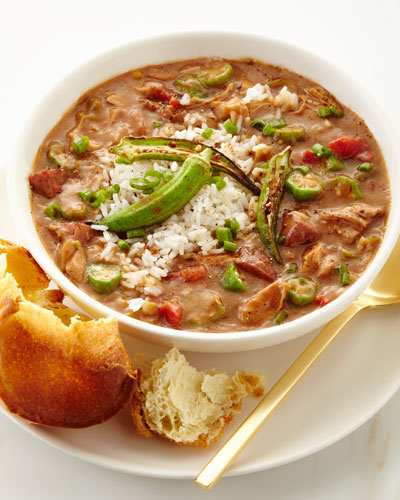 Turkey & Andouille Gumbo