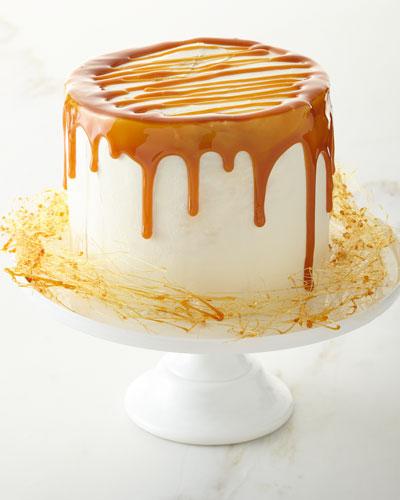 4 Layer Pumpkin Caramel Cake