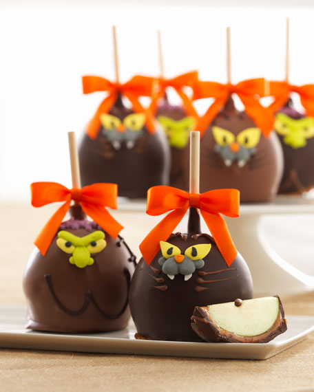 Spooky Indulgence Petite Caramel Apple 4-Pack