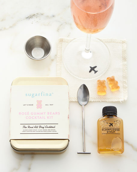 Sugarfina Rose All Day Cocktail Kit