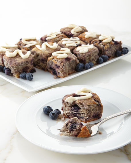 12-Piece Blueberry Iced Biscuits