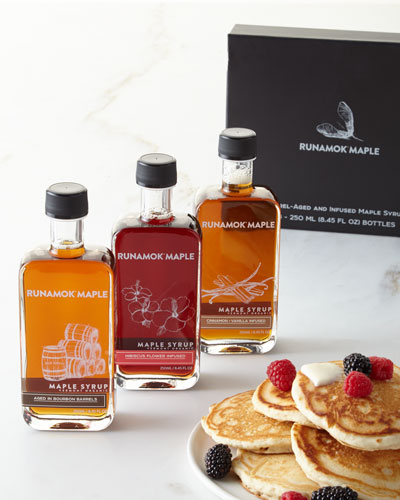 Infused Barrel-Aged Organic Maple Syrups