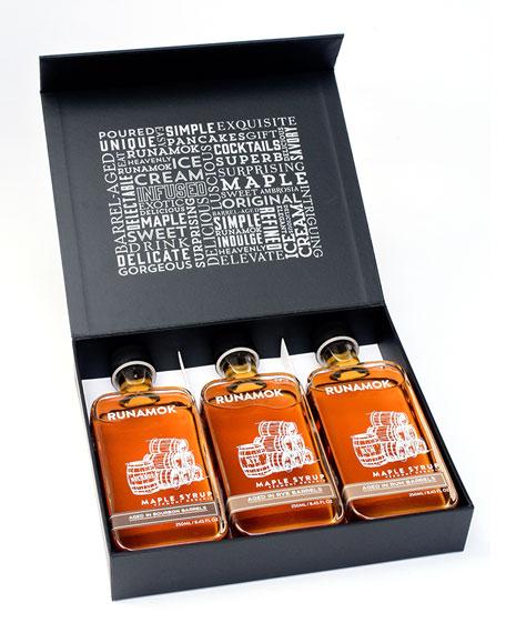 Barrel-Aged Organic Maple Syrups