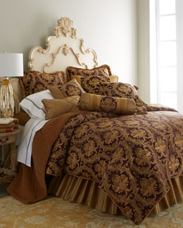 Austin Horn Collection Viola Royale Bedding
