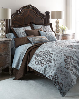 Eastern Accents Azure Luca Bedding