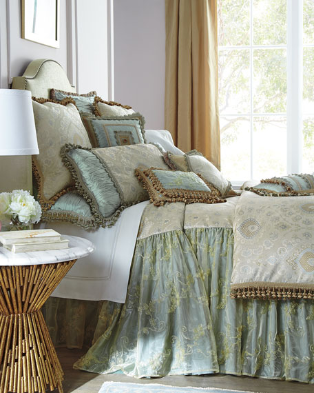 """Crystal Palace 24""""L King Coverlet"""
