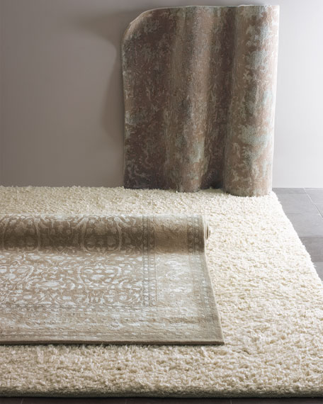 "Reflection Shine Rug, 7'6"" x 9'6"""
