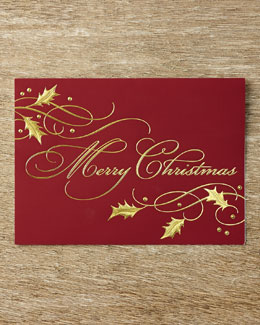 Carlson Craft Christmas Tidings Holiday Cards