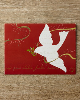 Carlson Craft Peace Dove Holiday Greeting Cards