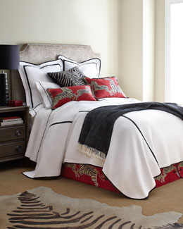 Scalamandre Maison by Eastern Accents Le Zebre Bedding