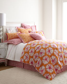 SFERRA Snappy Poppy Bedding