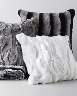 Adrienne Landau Fur Throw & Pillows