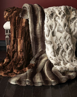 Sweet Dreams Faux-Fur Coverlets