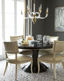 Massoud Calabria Dining Table & Nikita Dining Chair