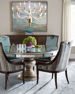 John-Richard Collection Lisandra Dining Table & Despina Dining Chair