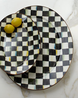 MacKenzie-Childs Courtly Check Oval Platters