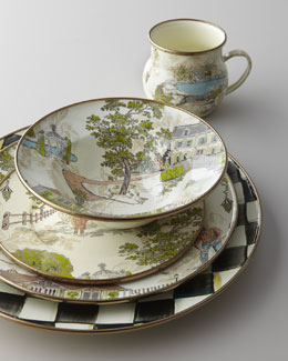 MacKenzie-Childs Aurora Dinnerware