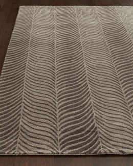Gray Zebra Rug