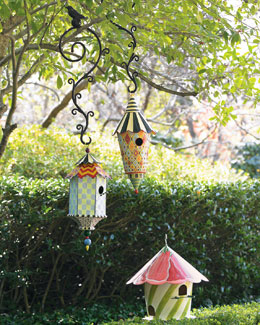 MacKenzie-Childs Birdhouses & Birdhouse Hook