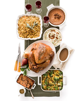 Roasted Turkey Meal