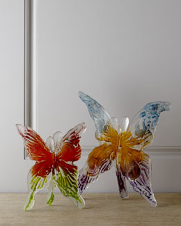 Amanda Brisbane Glass Butterflies