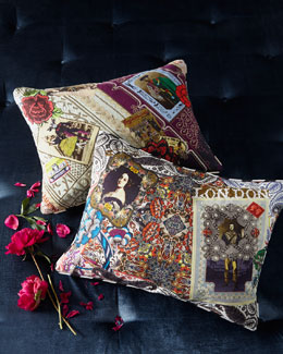 Designers Guild Digital-Print Accent Pillows