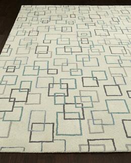 Graphic Squares Rug
