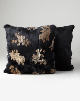 Adrienne Landau Rabbit Pillows & Throw