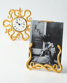 BANCHI Snake Photo Frame & Desk Clock