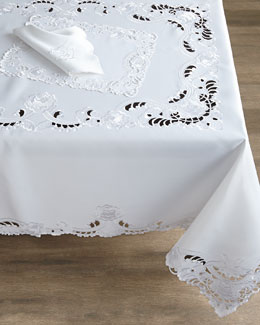 SFERRA Brenna Tablecloths, Placemats, & Napkins