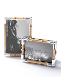 Bamboo-Motif Frame