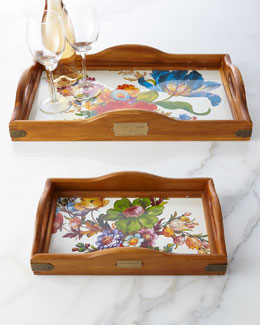 MacKenzie-Childs Flower Market Hostess Tray